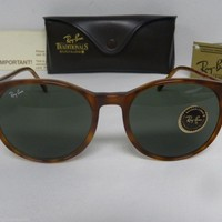 Cheap New Vintage B&L Ray Ban Traditionals Style C Blond Tortoise L1674 Round outlet