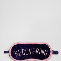 Monki Recovering Sleep Mask at asos.com