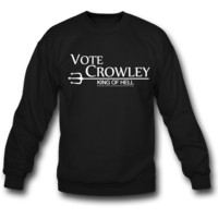 vote crowley SWEATSHIRT CREWNECKS