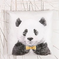 Ohh Deer Yellow Panda Cushion - Urban Outfitters