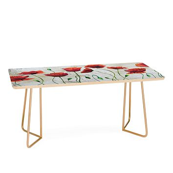 Madart Inc. Soft Wind Blowing Coffee Table
