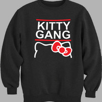 Hello Kitty Gang Sweater for Mens Sweater and Womens Sweater ***