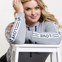 Plus Size With Love Hoodie