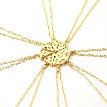 Cheese Friendship Necklace