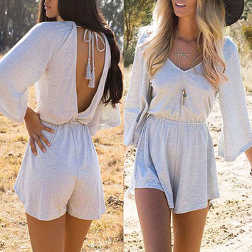 Open Hearted Playsuit