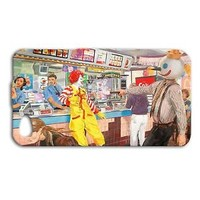 Funny Jack Shooting Ronald Cute Phone Case iPhone Hot Cover Fast Food Custom Fun