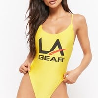 L.A. Gear One-Piece Swimsuit