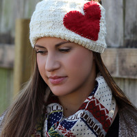 Boho Chunky Scarf- Christmas , Reindeer, Winter Scarf, Navy, White Scarf , Knitted, Wood Buttons, Leather, Red ,Muffle ,Shawl Green , Yellow