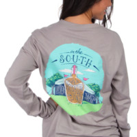Lauren James Long Sleeve Tee- Tailgating in Tents- FINAL SALE