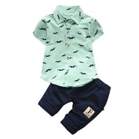 Baby Boys Mustache Outfit