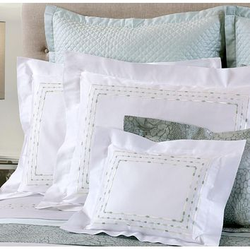 Sole Embroidery Bedding by Dea Linens