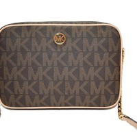 Michael Kors Fulton Signature PVC Small Crossbody Bag