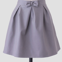 Poppy Faux Leather Skirt By Sugarhill