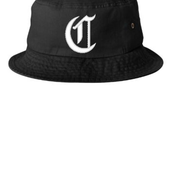 C EMBROIDERY HAT - Bucket Hat