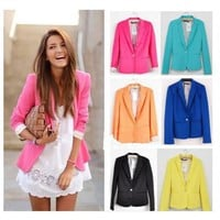 #3212 z Candy Color Cultivate one's morality Suit