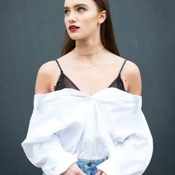 Your Everyday Button Up Blouse