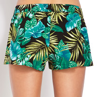 Tropical Goddess Dolphin Shorts