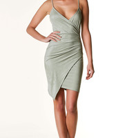 All The Right Feels Envelope Dress