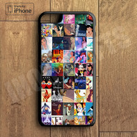 Disney Cute Collage Adorable Custom Case For iPhone 6 Plus For iPhone 6 For iPhone 5/5S For iPhone 4/4S For iPhone 5C3 iPhone X 8 8 Plus