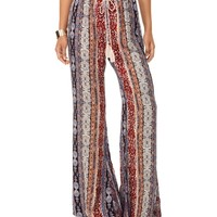 Multi Boho Printed Pants