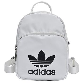 ADIDAS tide brand men and women couples casual shoulder bag backpack backpack white