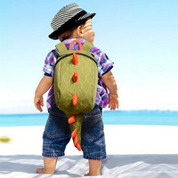 Dinosaur Canvas Fashion New Kids Backpack Bags School Bags For Children Babys  D_L = 1708622788