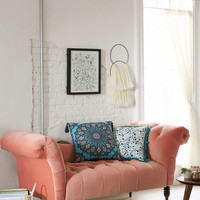 Antoinette Fainting Sofa - Coral - Urban Outfitters