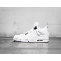 Air Jordan 4 Retro 'Pure Money White' 2017