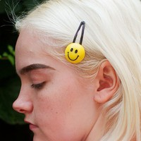 Smiley Hair clips (1 pair)