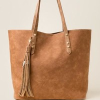 Jacqueline distressed tech tote