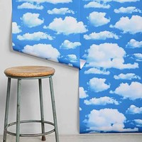 Walls Need Love Clouds Removable Wallpaper- Sky One