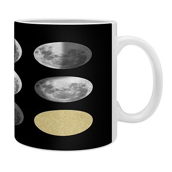 Chelsea Victoria Moon Phases and The Gold Sun Coffee Mug