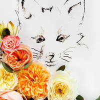 Fox and Flower No. 9894