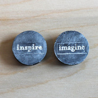 black craft room magnets - inspire and imagine