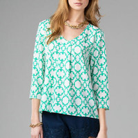 CAMBY PRINTED BLOUSE