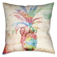 Colorful Pineapple Indoor Decorative Pillow