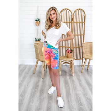 In A Daze Biker Shorts