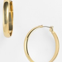 Anne Klein Wide Hoop Earrings