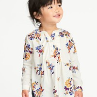 Pintuck Tunic for Toddler Girls  old-navy