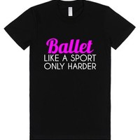 Ballet-Female Black T-Shirt