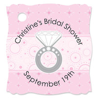 With This Ring - Personalized Bridal Shower Tags - 20 ct