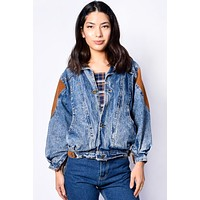 ECH Vintage Dally Acid Wash Jacket