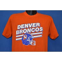 80s Denver Broncos Football Helmet t-shirt Medium