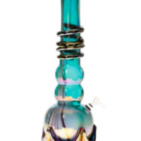 Soft Glass Water Pipe The Cloud Cannon 16""