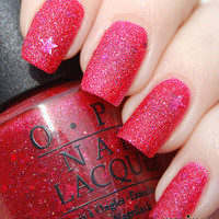 OPI Nail Polish (M48-The Impossible) NEW Mariah Carey Collection *LIQUID SAND*
