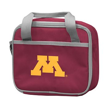 UNIVERSITY OF MINNESOTA MAROON LUNCH BOX F/ PRIMARY LOGO
