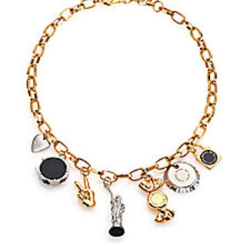 Marc by Marc Jacobs - Lost & Found NY Trinket Necklace - Saks Fifth Avenue Mobile