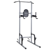 Costway Chin Up Tower Rack Pull Up Stand Bar Leg Raise Home Gym Workout Weight