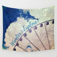 Wander & Explore Wall Tapestry by RDelean