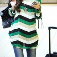 New Arrival Casual Round Neck Long Sleeve Shirt